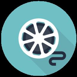 film-reel-2d-flat-graphic